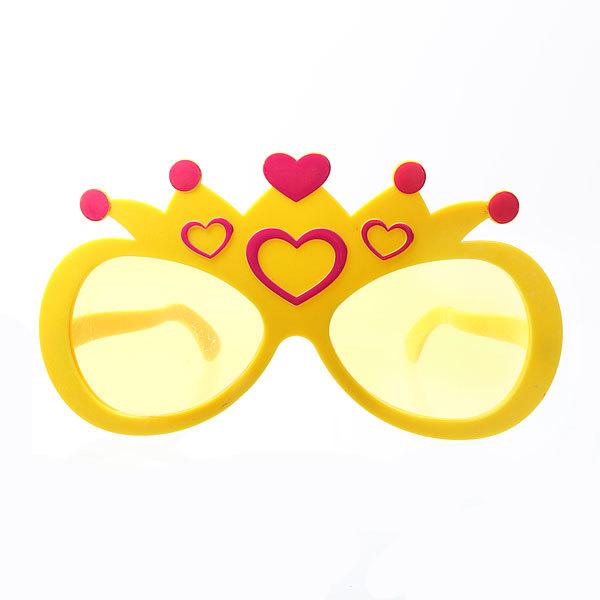 Очки карнавальные Гигант″Принцесса″ 14см купить оптом и в розницу