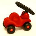Игрушка Пожарная машина из нат. каучука с флок. покрыт. 21 см. 20009 купить оптом и в розницу