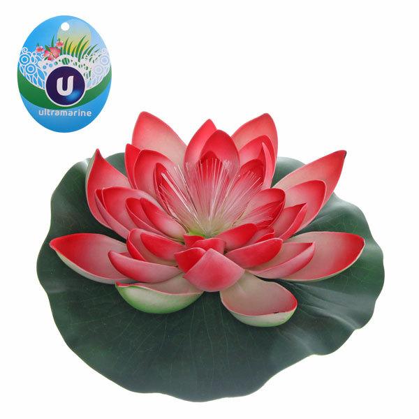 Растение водоплавающее ″Лотос″ d- 28см с диодом 0166А-4 купить оптом и в розницу