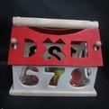 Дер. Логич. игрушка Домик малый 141-993С купить оптом и в розницу