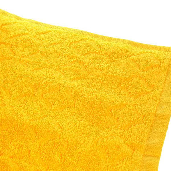 Махровое полотенце 50*100см средний желтый жаккард ЖК100-2-006-007 купить оптом и в розницу