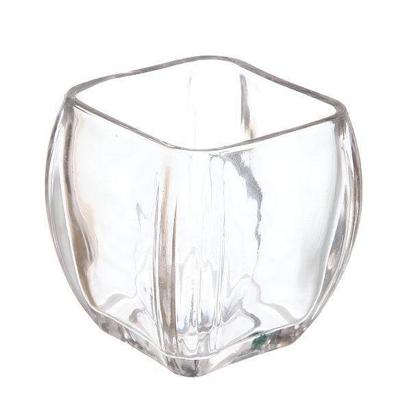 Ваза стеклянная флористическая 9*8,5*8,5см 661-8 купить оптом и в розницу