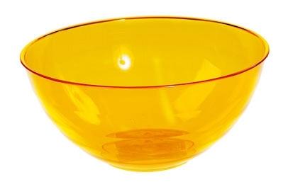 """Салатник """"Florencia"""" 3 л (оранжевый) *18 купить оптом и в розницу"""