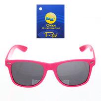Очки солнцезащитные ″Модный стиль″ в розовой оправе 054-4 купить оптом и в розницу