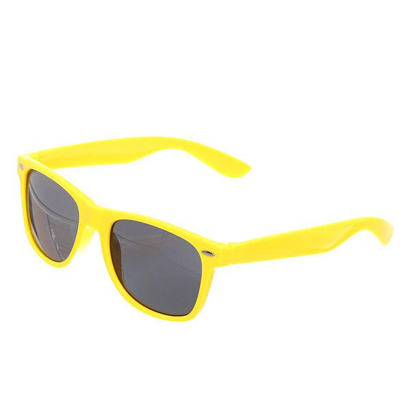 Очки солнцезащитные ″Модный стиль″, цвет оправы желтый купить оптом и в розницу