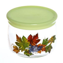 Банка для продуктов стеклянная 500мл ″Осенний вальс″ купить оптом и в розницу