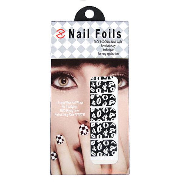 Наклейки для для ногтей ″Nail Foils″, рисунок поцелуй купить оптом и в розницу