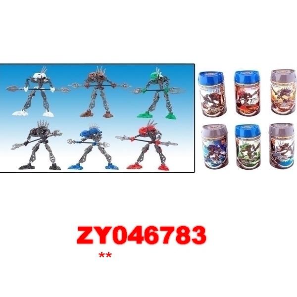 Робот Бионикл 8911-8916 6 видов в банке купить оптом и в розницу