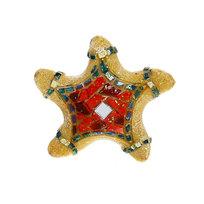 Магнит из полистоуна ″Мозаика″ морская звезда купить оптом и в розницу