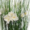 Цветы искусственные 35см Трава с лютиками в пакетике YE11678 купить оптом и в розницу