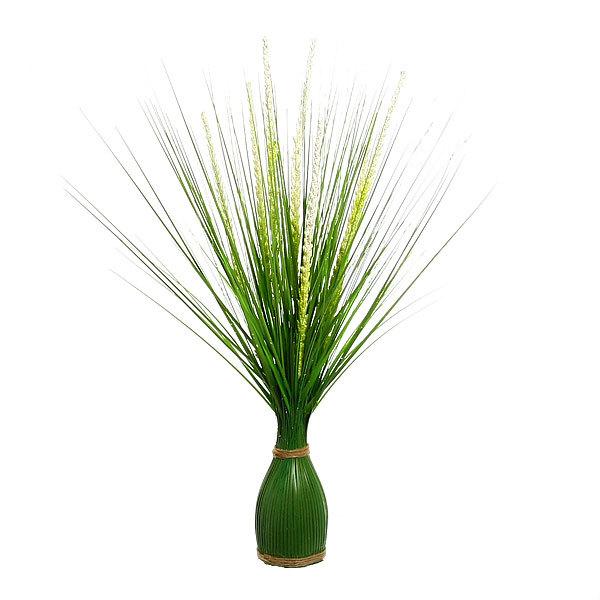 Цветы искусственные 35см трава Травка 343-2 купить оптом и в розницу