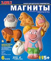 Набор ДТ Магнит Деревенские животные М-019 Lori купить оптом и в розницу