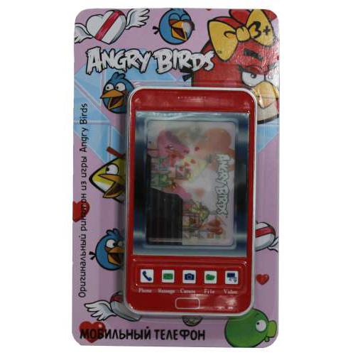 Телефон сотовый Т55639 Angry Birds гэлекси купить оптом и в розницу