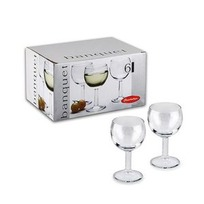 Набор фужеров д/белого вина БАНКЕТ 6 шт. 160 мл. (1/4) купить оптом и в розницу