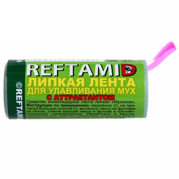 Липкая лента от мух 1шт ″Рефтамид″ купить оптом и в розницу