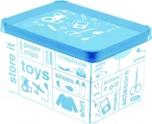 Коробка декоративная STOCKHOLM L TYPOGRAPHY   /* 5 шт купить оптом и в розницу