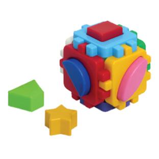 Логич.игрушка Куб Умный малыш мини 1882 /интелком/ купить оптом и в розницу