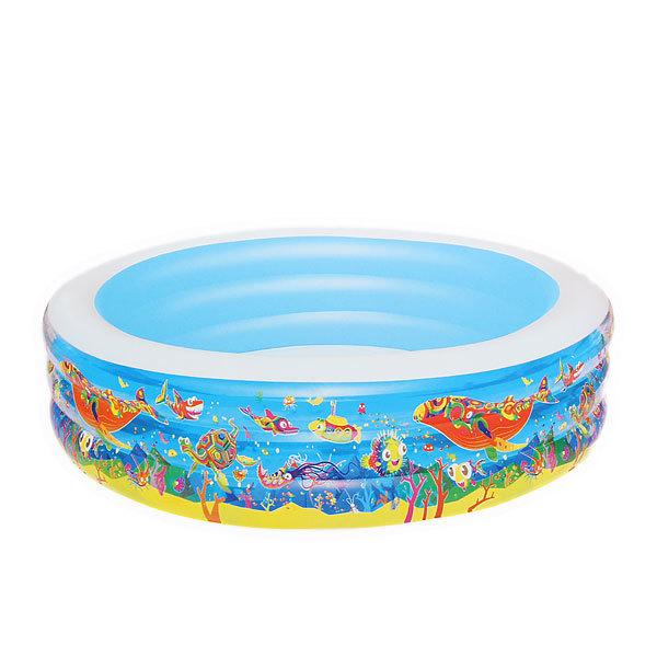 Бассейн надувной круглый 196х53 см ″Подводный мир″ Bestway (51122B) купить оптом и в розницу