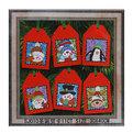 Набор для вышивания крестиком 30*40см ″Новый год″ SJ010 купить оптом и в розницу