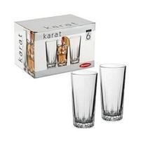 Набор стаканов для коктейля 6шт 330мл ″Карат″ (1/8) 52888Бор купить оптом и в розницу