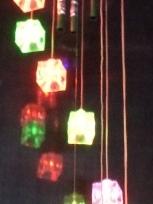 Музыка ветра ″Кубики″ 9 шт на батарейках купить оптом и в розницу