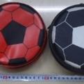 Футляр для CD 40 кожзам ″Мяч футбольный″ d-15см 40 купить оптом и в розницу