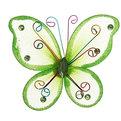 Украшение декоративное 7см Бабочка Радуга 1кристалл+4стразика на магните 3 купить оптом и в розницу