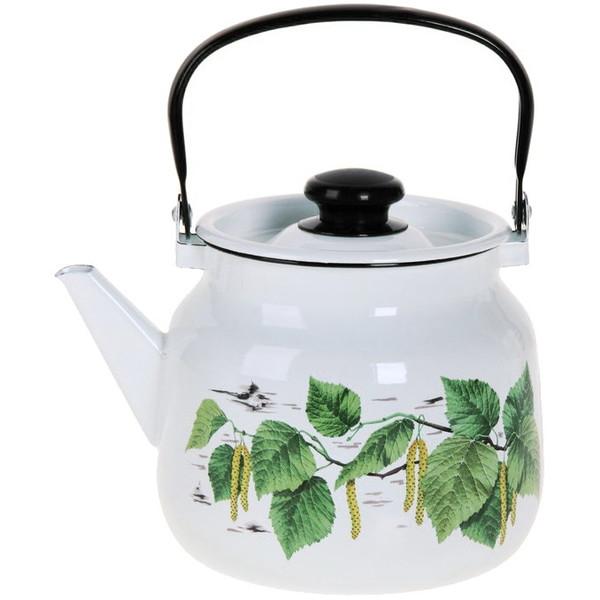 Чайник эмалированный 3,5л ″Березка″ купить оптом и в розницу