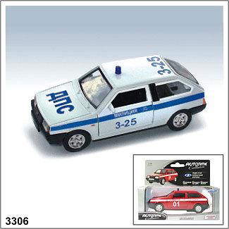Модель ЛАДА 2108 Милиция 3306 1:34/39 купить оптом и в розницу