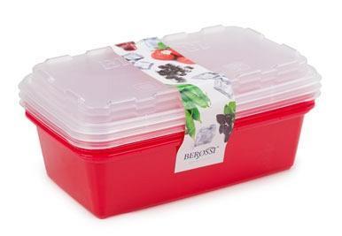 """Набор контейнеров для заморозки """"Zip"""" (сангрия)  *12 купить оптом и в розницу"""