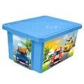 """Детский ящик для хранения игрушек """"X-BOX"""" City Cars 12л*4 купить оптом и в розницу"""