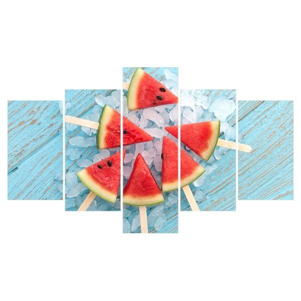 Картина модульная полиптих 75*130 Еда диз.35 102-02 купить оптом и в розницу