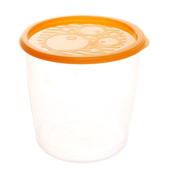 Набор контейнеров 5шт (0,55л.0,95л.1,6л,2,75л,4,7л), круглых высоких купить оптом и в розницу