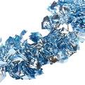 Мишура новогодняя 2 метра 11см ″Зимняя Ночь″ синий купить оптом и в розницу