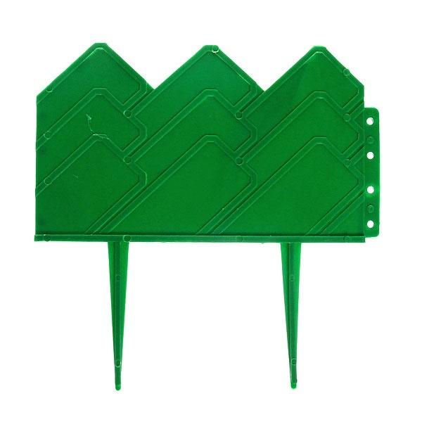Бордюр № 3 (14*310) зеленый 1/10 купить оптом и в розницу