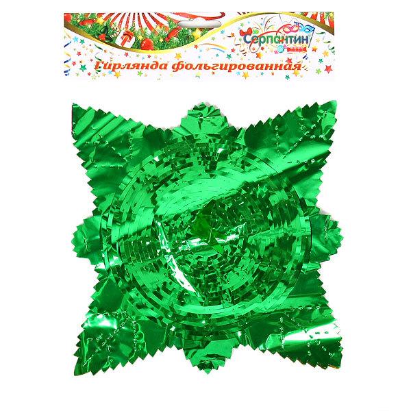 Гирлянда-растяжка фольгированная″Серпантин″ 2м 6 секций 20см 1403-15 купить оптом и в розницу