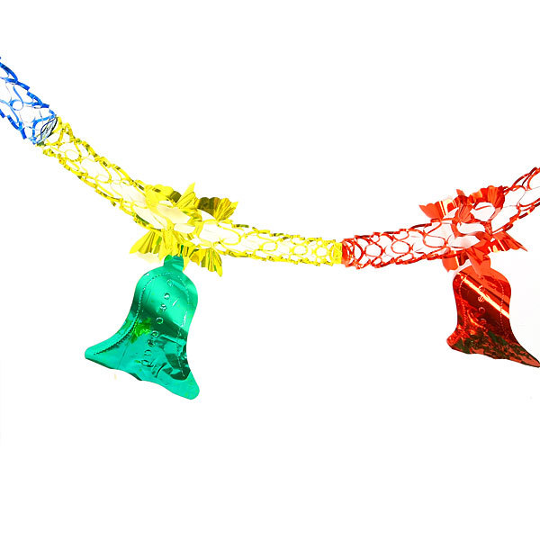 Гирлянда-растяжка фольгированная 2,5м 5 секций 13см 1403-22 купить оптом и в розницу