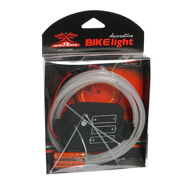 Подсветка колеса TQ-3009 (14 led,3 режима,питание от ЭП типа АААх3) красный купить оптом и в розницу