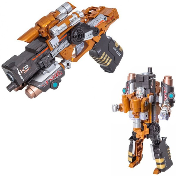 Пистолет Striker с мягк.пулями Трансформер 3414385 купить оптом и в розницу