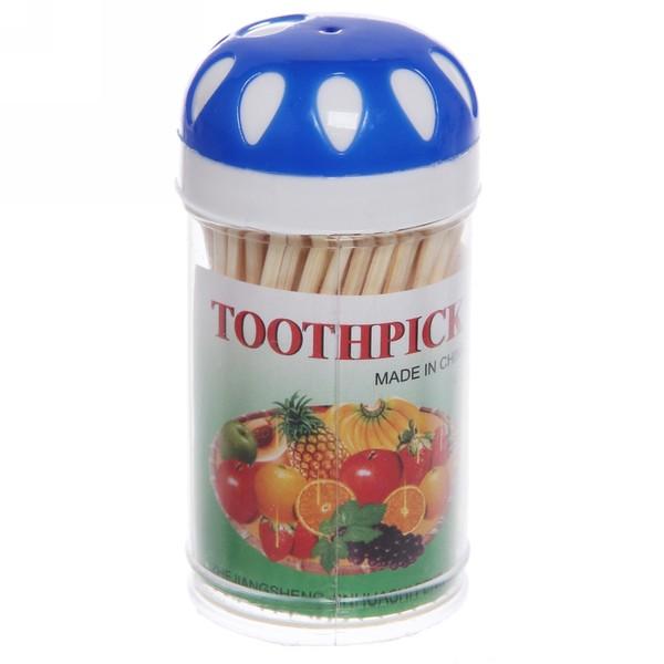 Зубочистки 100шт ″Капли″ в пластиковой банке купить оптом и в розницу