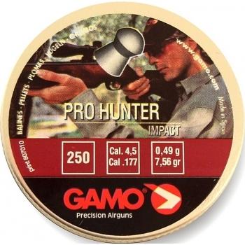 Пуля пневматическая Gamo Pro-Hunter″, 4,5 мм, 0,49 гр (250 шт) купить оптом и в розницу