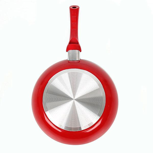 Сковорода ″Селфи-Ред″ d-28 см 2,5 мм с керамическим покрытием купить оптом и в розницу