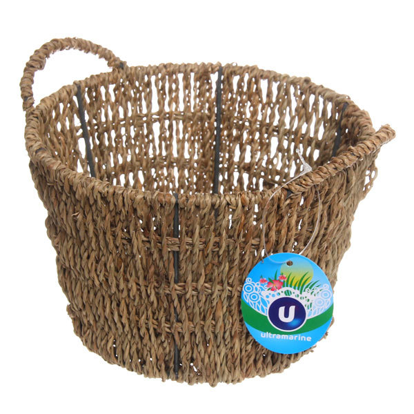 Кашпо для цветов садовое ″Плетеное ведерко″ 18х12см НС-01 купить оптом и в розницу