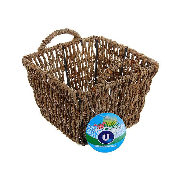 Кашпо для цветов садовое ″Плетеная корзинка″ 14х9см НС-02 купить оптом и в розницу