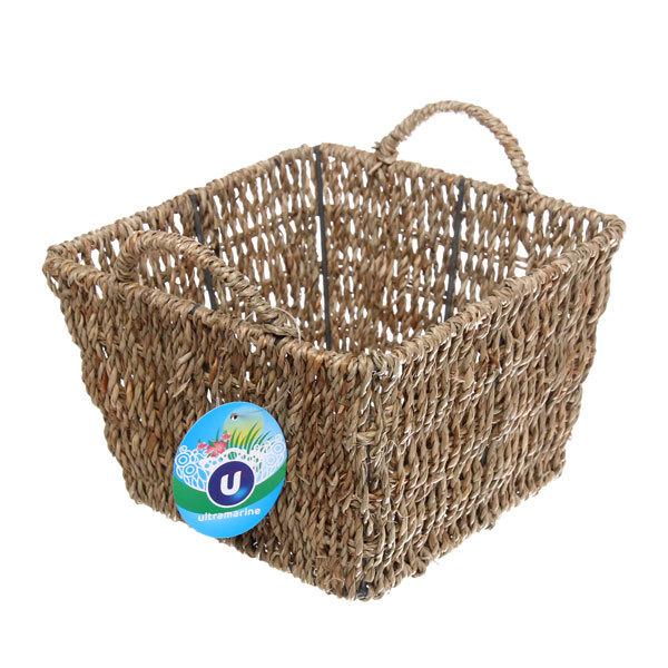 Кашпо для цветов садовое ″Плетеная корзинка″ 18х12см НС-02 купить оптом и в розницу