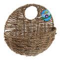 Кашпо для цветов садовое ″Плетеное настенное″ 26х13см В-455-1 купить оптом и в розницу