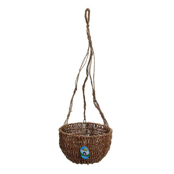 Кашпо для цветов садовое ″Плетеное подвесное чаша″ 25х14см С-307 купить оптом и в розницу