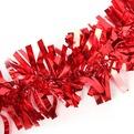 Мишура новогодняя 2 метра 10см ″Яркий праздник″ красный купить оптом и в розницу