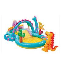 Игровой центр с бассейном Dinoland от 3 лет 333*229*112 см Intex (57135) купить оптом и в розницу