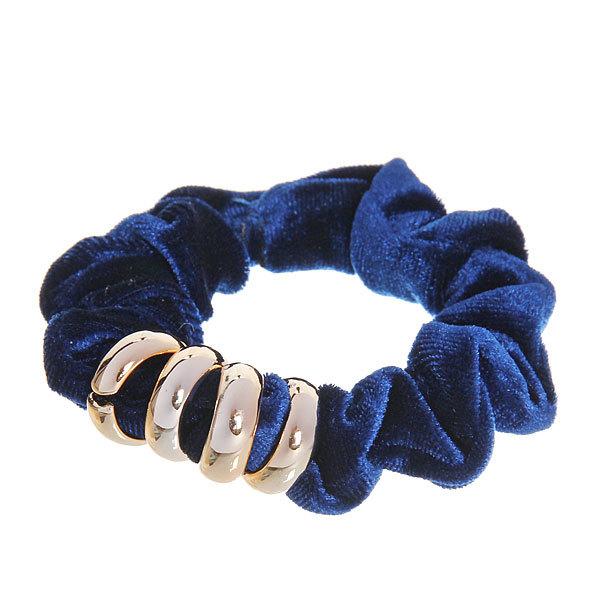 Резинка для волос бархат с кольцами в коробке (100) МР-1452 1шт купить оптом и в розницу